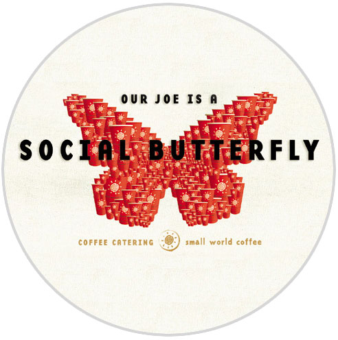 Our joe is a social butterfly